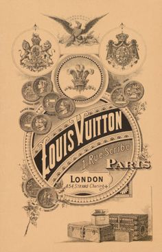 Louis Vuitton - Vintage Poster