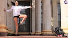 pointe dance to pop music Break Dance Video, Dance Videos, Dance Routines, Best Dance, Dance Choreography, Ballet Dancers, Miley Cyrus, Pop Music, Gymnastics