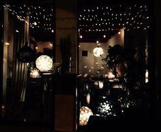 allestimento TIPIC FICUS BAR | terraglio - Bassano del grappa | astrolamp - lampada in ceramica | chiarasonda.it