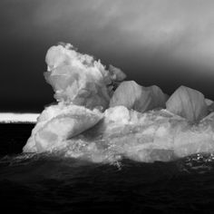 "Saatchi Online Artist Sylvie Bonnot; Photography, ""Untitled - Ice"" #art"