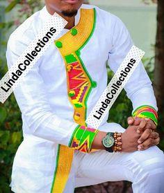 Africain vêtements chemise pour homme hommes hommes chemise Chemise Pagne  Homme, Tissu Pagne, Modèle