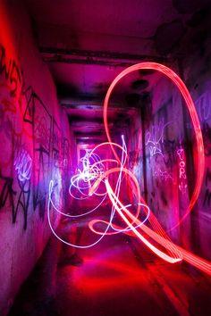 Pink | Pastel | Rosé | Salmon | Peach | Blush | Pinku | Rozovyy | Rosa | ピンク | розовый | Rosado | Power station light painting. by ~vivifyer on deviantART