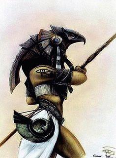 Mitología egipcia...Horus, su emblema, El Ojo de Horus, es considerado un símbolo con un altísimo Poder de Protección.