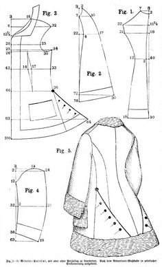 Costume Patterns, Coat Patterns, Clothing Patterns, Sewing Patterns, Sewing Tutorials, Sewing Crafts, Sewing Projects, Diy Clothing, Sewing Clothes