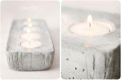 DIY met beton