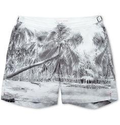 orlebar brown bulldog swim shorts | Orlebar Brown - Bulldog Mid-Length Palm-Print Swim Shorts | MR PORTER