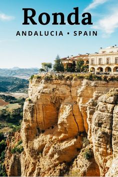 Ronda, Andalusia Spain - a perfect day trip from Seville or Malaga, Ronda is one of the most beautiful towns in Spain - click to read our guide to exploring the town and its incredible views