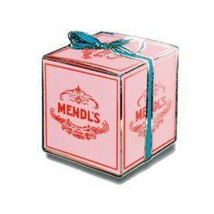 Mendl's Box Enamel Pin - Dream in Plastic