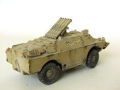 Iraqi BRDM-3 | Irwan's Plastic Scale Model http://irwan.net/galery-model-kit/