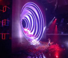 Stage Lighting Design, Stage Set Design, Set Design Theatre, Event Design, Es Devlin, Concert Lights, Exhibition Booth Design, Scenic Design, Light Installation