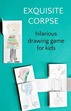 Drawing Games That Will Make You Laugh Till Your Sides Hurt ...