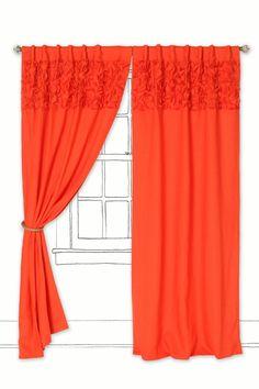 Separating Closet from bedroom - Upward Petals Curtain - Anthropologie.com - $208-268