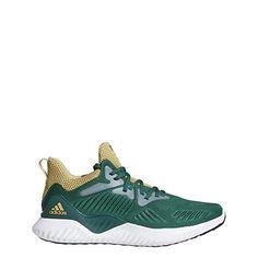 newest dec43 88852 adidas Alphabounce Beyond NCAA Shoe Mens Running 13 Dark Green-Sand-Green