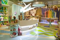 TOY STORES! Jou Jou toy store by Watts Architects, Salt Lake City   Utah store design