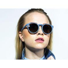 Solid Denim Kepler Sunglasses - Marina Blue