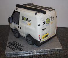 Transit Van Cake
