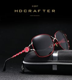 b7b74d7a9c 2017 HDCRAFTER New Style Female Sunglasses Brand Designer Polarized Sun  Glasses for Women Driving Outdoor Eyewear Wholesale