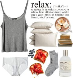 Relax by purite featuring a granny panty ❤ liked on Polyvore