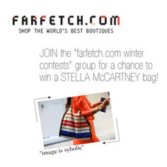 """""""JOIN """"farfetch.com winter contests"""" GROUP!"""" by sa3ina ❤ liked on Polyvore"""