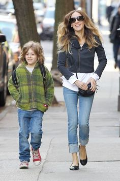 Sarah Jessica Parker and her son James Wilke are an adorable pair!