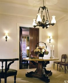 """The entrance hall """"acts as a buffer from the outside."""""""