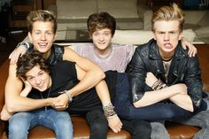 The Vamps (Bradley, James, Connor & Tristan) I wrote a blog post about them, check it out by clicking the picture!