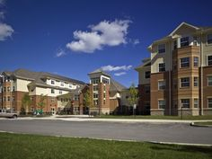 Slippery Rock University - Student Housing by WTW Architects #green #architecture #design