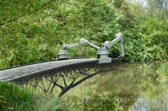Technology making the once impossible easy  Go Joris Laarman.  This Robot is Going to 3D-Print a Steel Bridge | IFLScience