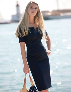 lovely dress for work or smart occasions