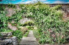 Clare. Walled garden at Dromoland Castle.