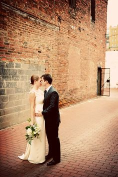 modern industrial wedding washington dc 275x413 Washington DC Wedding: Kristen + Jepthas Urban Art Gallery Ceremony