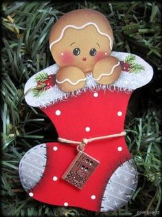 Christmas Stocking Gingy....