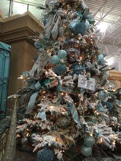 Tiffany blue tree