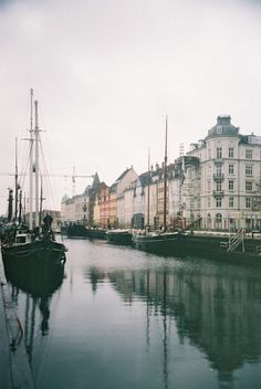 I recently went to Copenhagen & adored the place. There were lots of bleak november days that looked just like this. It was truly beautiful!