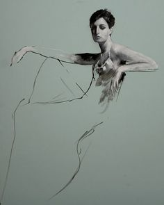 Erin Seated, by Mark Demsteader Figure Painting, Figure Drawing, Painting & Drawing, Mark Demsteader, Life Drawing, Portrait Art, Figurative Art, Painting Techniques, Painting Inspiration
