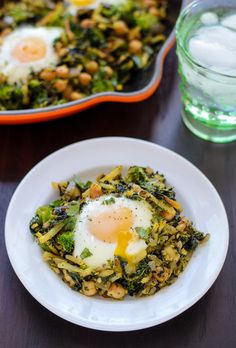 Curried Chickpea Hash blends eastern-inspired spices with healthy veggies and frozen hashbrowns for a fast, flavorful one-pot meal.