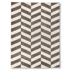 Room Essentials™ Herringbone Shag Area Rug - Gray (7'x10')