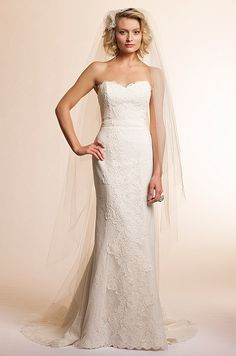 Amy Kuschel textured wedding dress, 2013.