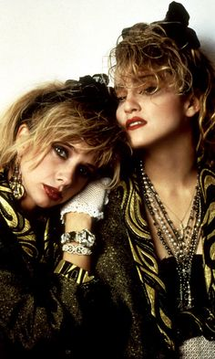 Madonna And Rosanna Arquette In Desperately Seeking Susan, 1985                                                                                                                                                     More