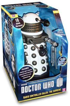 Remote Control White 13″ Dalek Supreme – Pictures