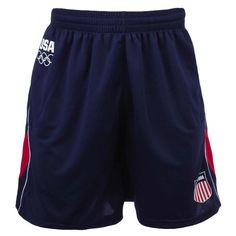 2012 Olympics Team USA Color Blocked Soccer Shorts