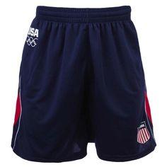 2012 Olympics Team USA Color Blocked Soccer Shorts