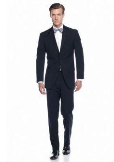MICHAEL Michael Kors Blue Classic Fit Navy Solid Suit