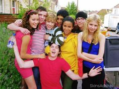 """cast of """"Skins"""" 1st generation! best.show.ever! UK all the way (because the U.S. attempt was horrible, sorry :/ )"""