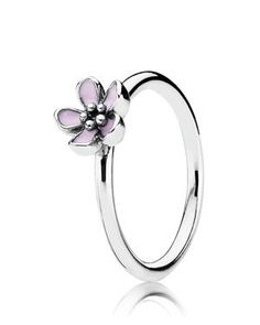 PANDORA Ring - Cherry Blossom Enamel | Bloomingdales Own this one