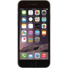 Apple - Pre-Owned iPhone 6 4G LTE with 128GB Memory Cell Phone - Space Gray