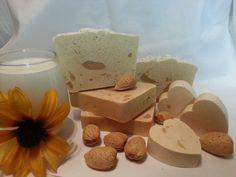 Honey Almond Goat Milk Soap by SunshinesSoap on Etsy, $5.00
