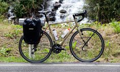 So I've been kicking around the idea of building a touring bike for sometime now, i was pretty much all sold on the surly long haul trucker until i saw the cinelli hobo when i w… Surly Long Haul Trucker, Touring Bike, My Ride, Kayaking, Surfing, Adventure, Orange Things, Travel, Bicycling
