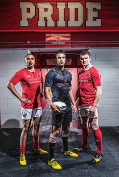 New jerseys for Munster Rugby Munster Rugby, Ireland Rugby, New Jersey, Eagles, Celtic, Irish, Gym, News, Lady