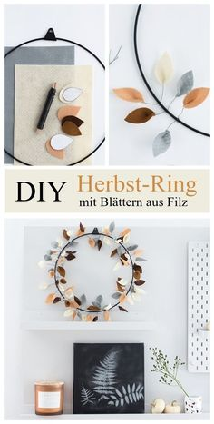 New Pics DIY in autumn: colorful autumn ring with felt leaves - Fall Crafts For Kids - . Style DIY in Fall: Colorful Autumn Ring with Felt Leaves – Fall Crafts For Kids – # Fall Crafts For Kids, Diy And Crafts, Upcycled Crafts, Kids Diy, Garden Projects, Diy Projects, Garden Ideas, Diys, Diy Home Decor For Apartments